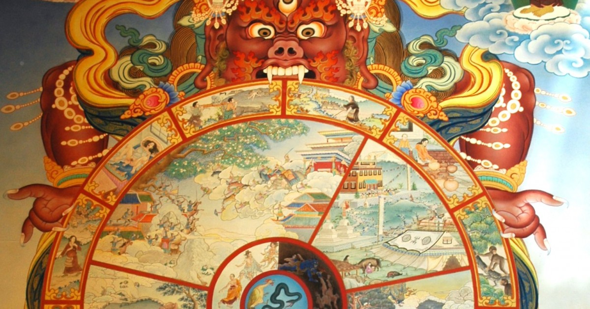 Lebensrad im Buddhismus • Russwurm
